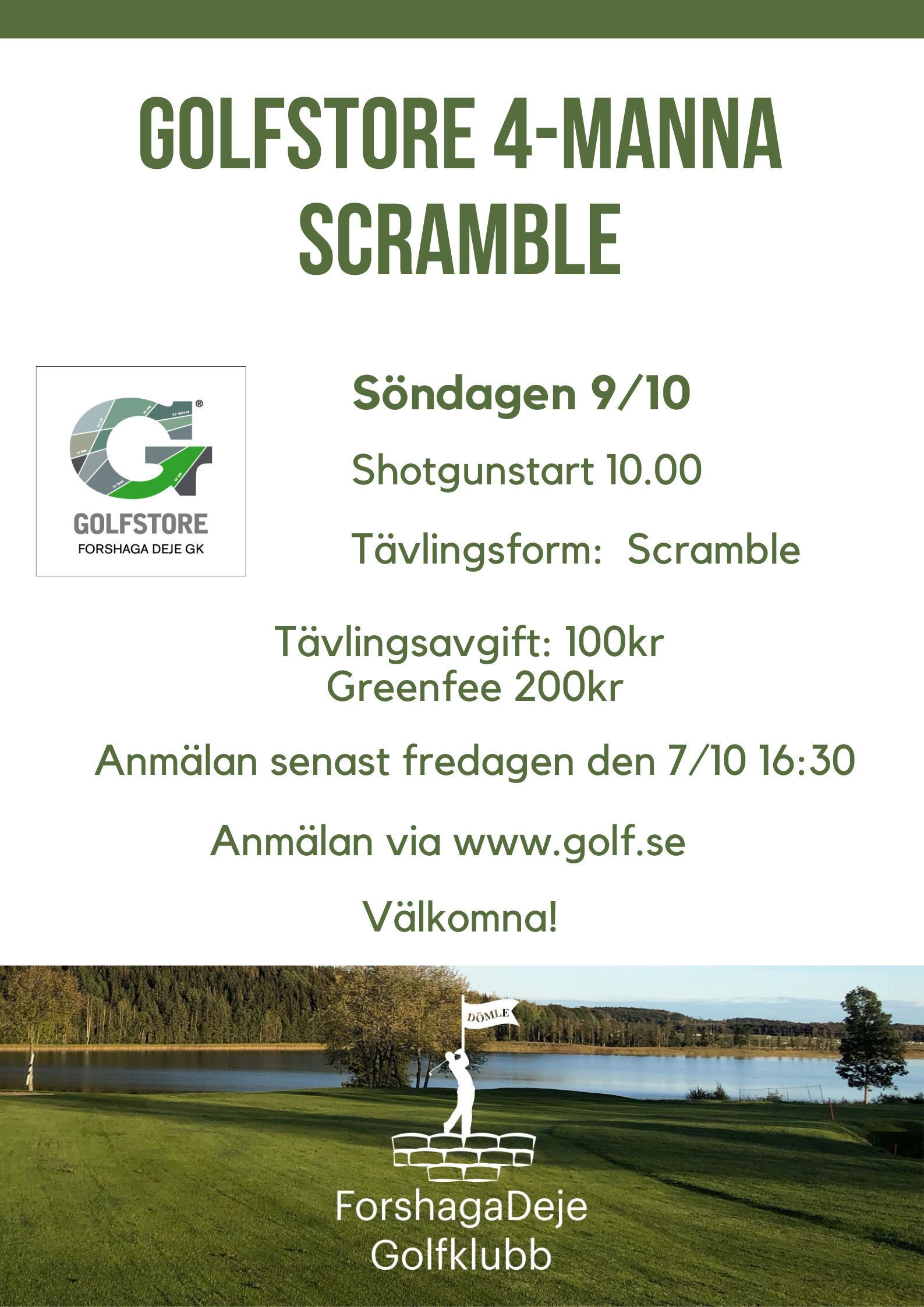 """Featured image for """"Golfstore 4-manna Scramble 9/10"""""""