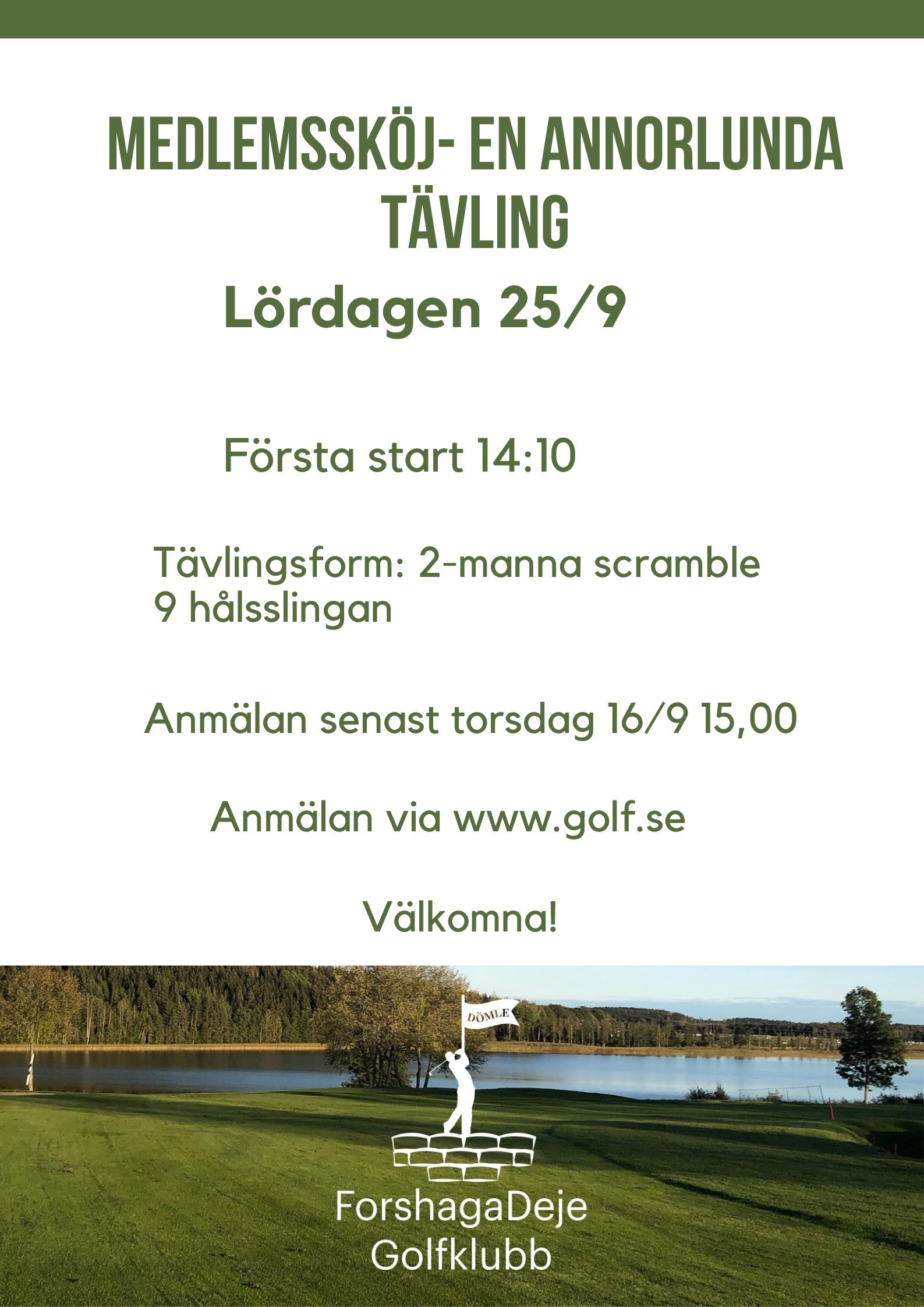 """Featured image for """"Medlemssköj – En annorlunda tävling"""""""